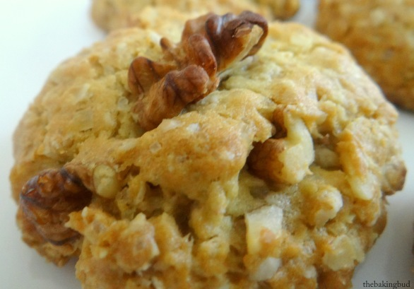Oatmeal Walnut Cookies