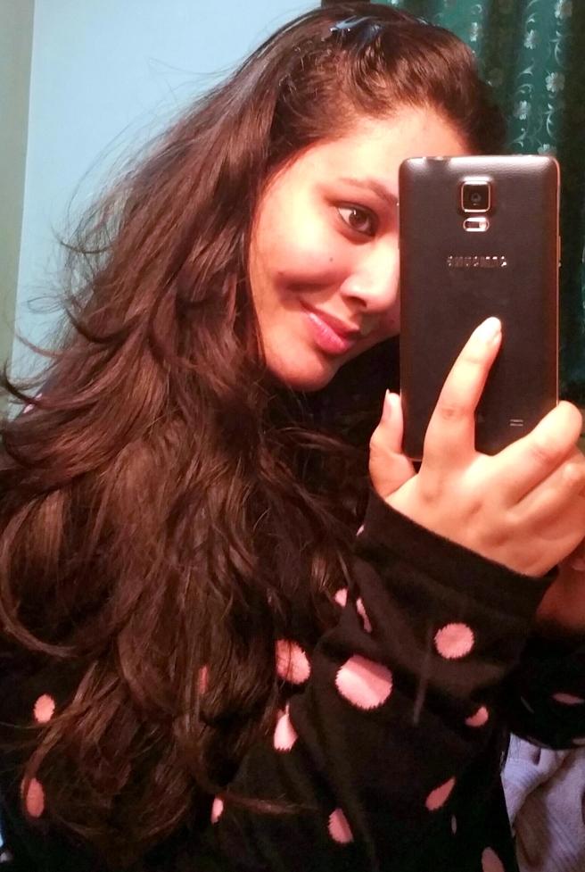 First Note-4 Selfie!