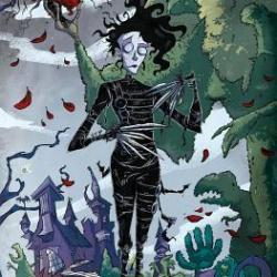 Graphic Novel Review: Edward Scissorhands Volume 1: Parts Unknown (Edward Scissorhands, #1)