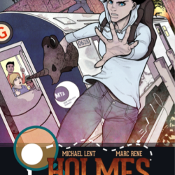Graphic Novel Review: i, Holmes by Michael Lent